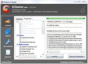 CCleaner Portable v2.06