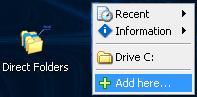 Direct Folders!